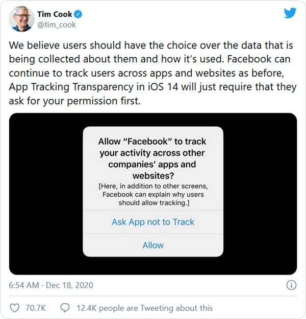"""Apple và Facebook """"chiến đấu"""" gắt như bầu cử Tổng thống Mỹ, chính bạn có thể chịu hậu quả ảnh 6"""