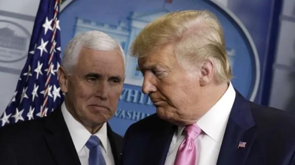 """Những người ủng hộ Tổng thống Trump làm """"điều khó tin"""": Nhắm vào Phó Tổng thống Mike Pence ảnh 4"""