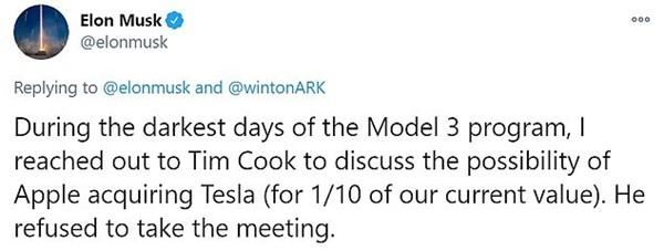 Tỷ phú Elon Musk vừa tiết lộ điều gì về Apple mà cư dân mạng xuýt xoa tiếc hộ cho Apple? ảnh 1
