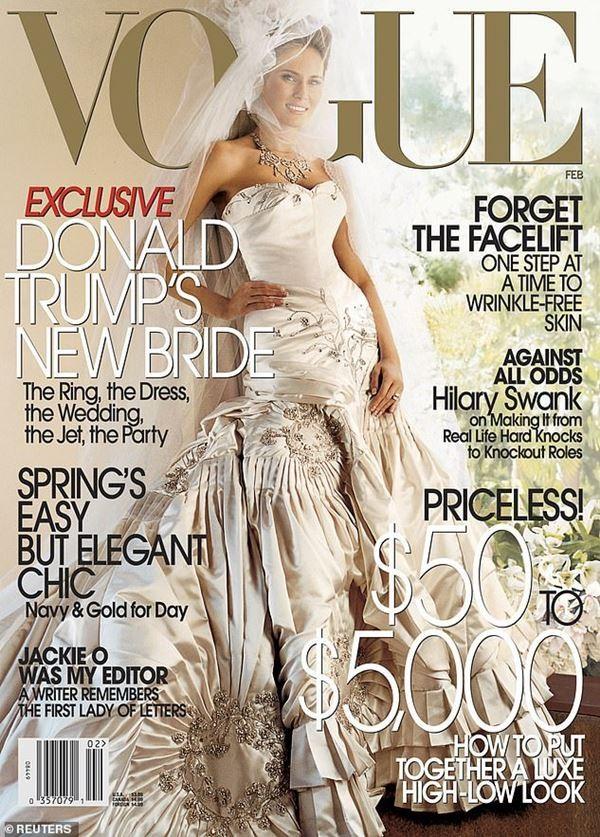 Tổng thống Trump ca ngợi Phu nhân, không hài lòng vì bà Melania không được lên bìa tạp chí ảnh 3