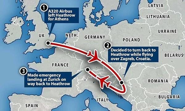 Cơ phó của hãng hàng không Anh ngất xỉu giữa chuyến bay, hành khách lo bị nhiễm COVID-19 ảnh 2