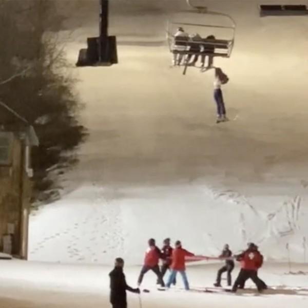 Ác mộng trên cáp treo: Cô gái 14 tuổi rơi khỏi ghế cáp, treo mình lơ lửng giữa không trung ảnh 2