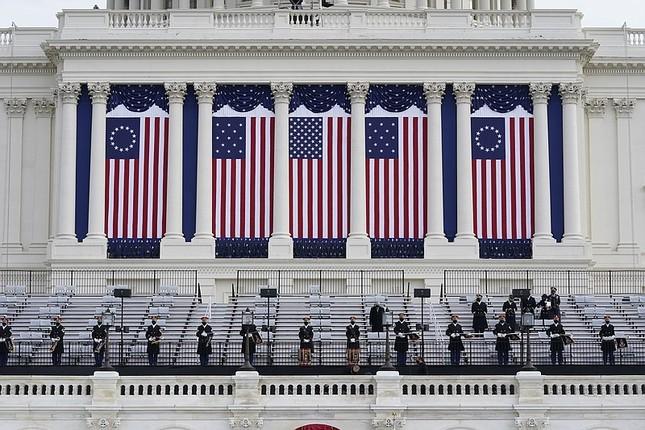 Vệ binh Quốc gia ở Điện Capitol phải học thêm một kỹ năng mới để bảo vệ Lễ Nhậm Chức của ông Joe Biden ảnh 3