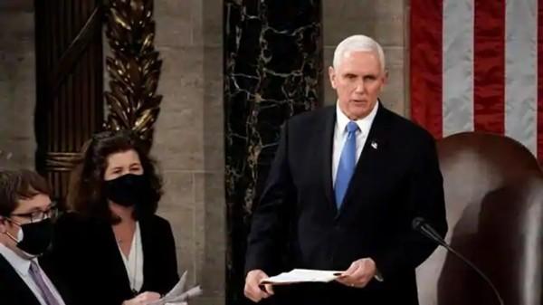 Phó Tổng thống Mike Pence đăng lời nhắn tạm biệt, mọi người nhận ngay ra điều khác thường ảnh 2