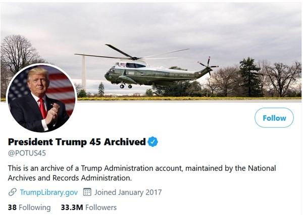 Tài khoản Twitter của Tổng thống Mỹ chỉ theo dõi 13 người mà có 1 ngôi sao, đó là ai vậy? ảnh 5