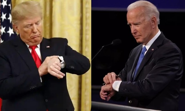 Những chiếc đồng hồ ưa thích thể hiện điều gì về Tổng thống Biden và cựu Tổng thống Trump? ảnh 7