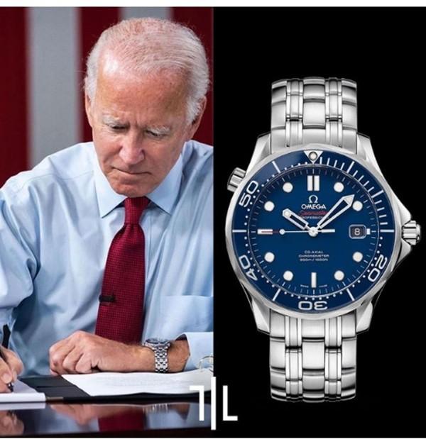 Những chiếc đồng hồ ưa thích thể hiện điều gì về Tổng thống Biden và cựu Tổng thống Trump? ảnh 1