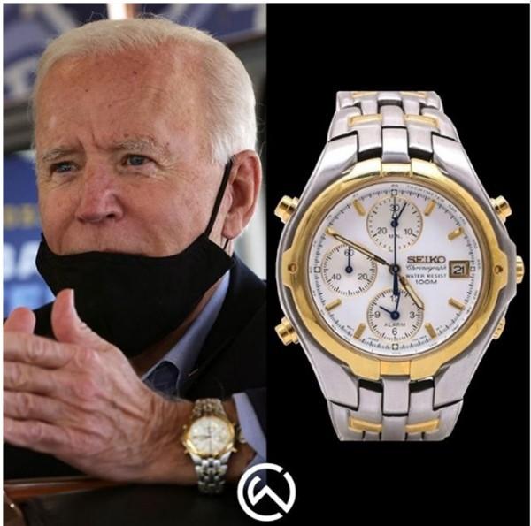 Những chiếc đồng hồ ưa thích thể hiện điều gì về Tổng thống Biden và cựu Tổng thống Trump? ảnh 2