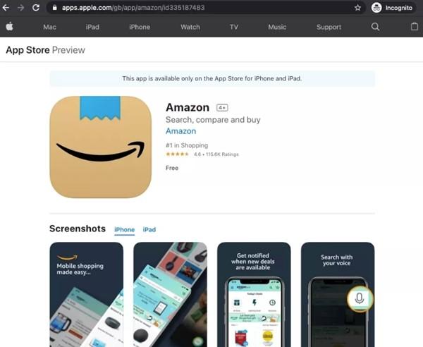 """Biểu tượng mới cho ứng dụng Amazon trông thế nào mà cư dân mạng đề nghị """"sửa lại ngay""""? ảnh 1"""