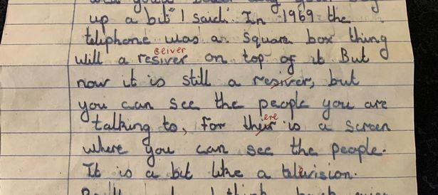 Bài văn của cô bé 11 tuổi viết từ hơn 50 năm trước có những dự đoán chính xác kỳ lạ về hiện tại ảnh 1