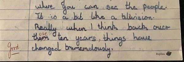 Bài văn của cô bé 11 tuổi viết từ hơn 50 năm trước có những dự đoán chính xác kỳ lạ về hiện tại ảnh 2