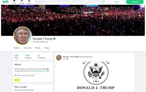 """Cựu Tổng thống Trump chưa hề """"tái xuất"""" mạng xã hội, tại sao nhiều nguồn tin đã nhầm lẫn rằng ông đăng bài? ảnh 1"""