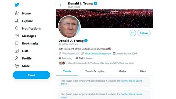 """Cựu Tổng thống Trump chưa hề """"tái xuất"""" mạng xã hội, tại sao nhiều nguồn tin đã nhầm lẫn rằng ông đăng bài? ảnh 2"""