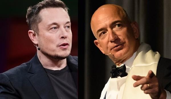 """Hai người giàu nhất thế giới đối đầu: Elon Musk phản pháo khi bị phía Jeff Bezos bảo """"thích nổi tiếng"""" ảnh 1"""
