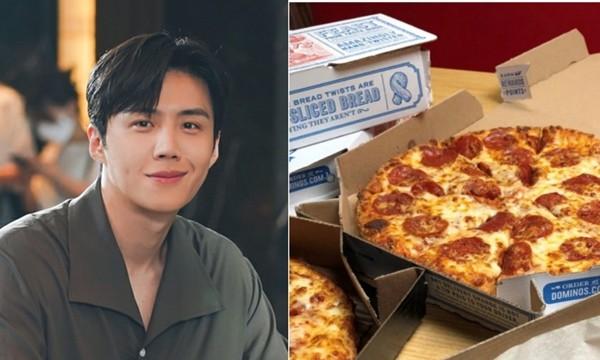 """Fan của """"nam phụ quốc dân"""" Kim Seon Ho (Start-Up) đề nghị tiệm pizza in hình idol lên hộp, ai ngờ được đồng ý ảnh 3"""