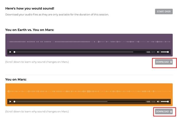 Giọng của bạn nghe trên sao Hỏa có hay không? Bạn có thể thử thu âm và nghe ngay bây giờ ảnh 3