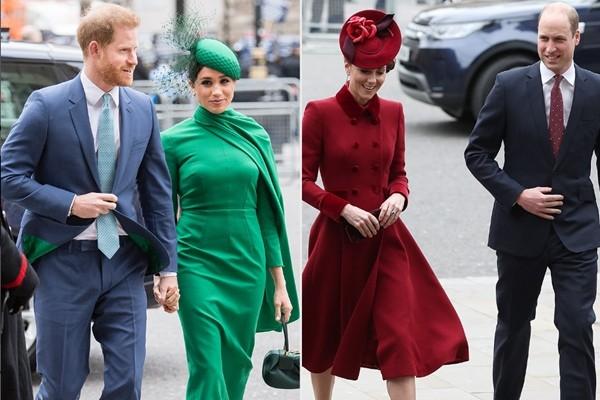 Hoàng gia đáp trả: William và Kate xuất hiện, nói gì về những cáo buộc của Meghan - Harry? ảnh 3