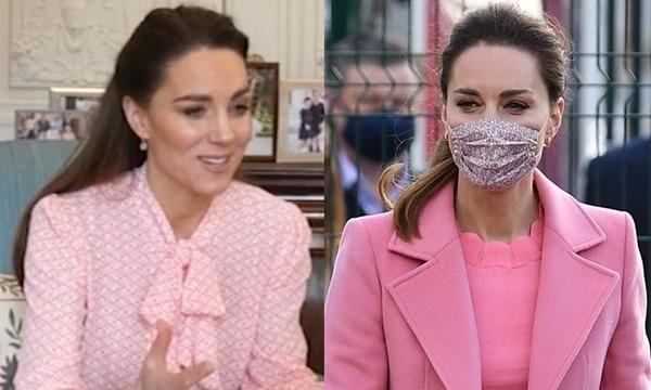 Không chỉ là thời trang: Lý do Công nương Kate toàn mặc màu hồng sau sự vụ Meghan - Harry ảnh 1