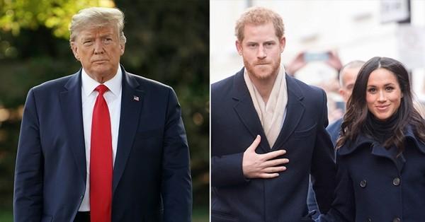Cựu Tổng thống Donald Trump lên tiếng nhận xét về Meghan, còn từng cảnh báo Harry ảnh 2