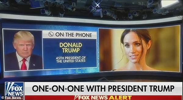 """""""Dám không, Meghan?"""": Cựu Tổng thống Mỹ Donald Trump """"thách"""" Meghan ra tranh cử năm 2024 ảnh 1"""