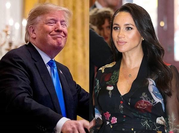 """""""Dám không, Meghan?"""": Cựu Tổng thống Mỹ Donald Trump """"thách"""" Meghan ra tranh cử năm 2024 ảnh 3"""