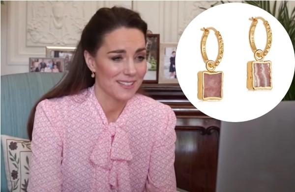 """""""Biệt tài"""" của Công nương Kate Middleton: Thể hiện thông điệp qua những đôi khuyên tai ảnh 1"""