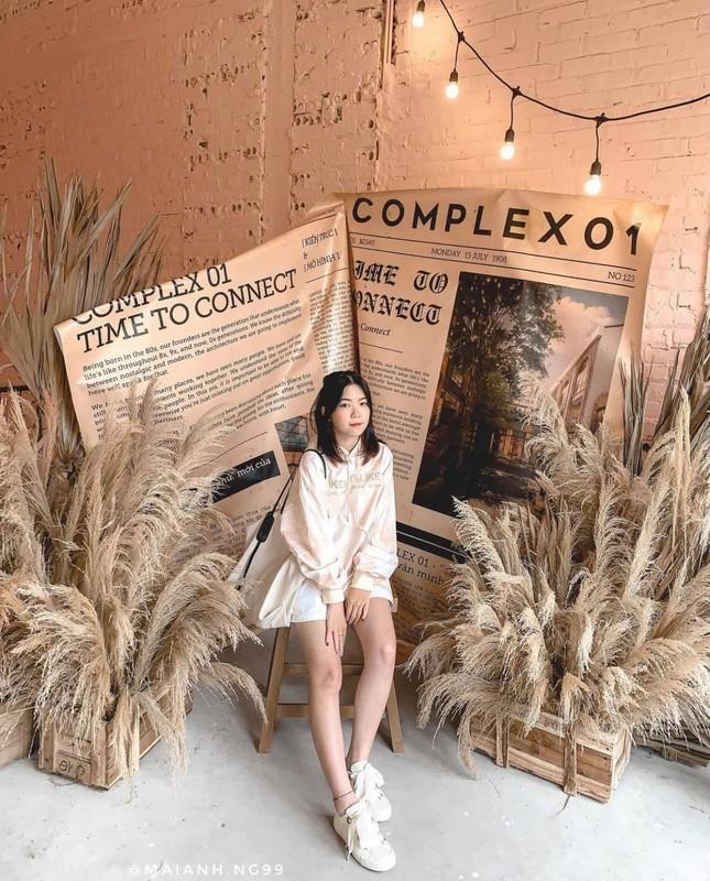 Complex 01: Thiên đường check-in hơn 4000 mét vuông mới toanh cho giới trẻ Hà Nội ảnh 6