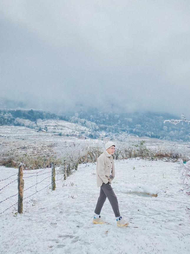 Y Tý, Sa Pa những ngày tuyết mùa Đông: Đẹp như lạc vào thế giới cổ tích của Frozen ảnh 3