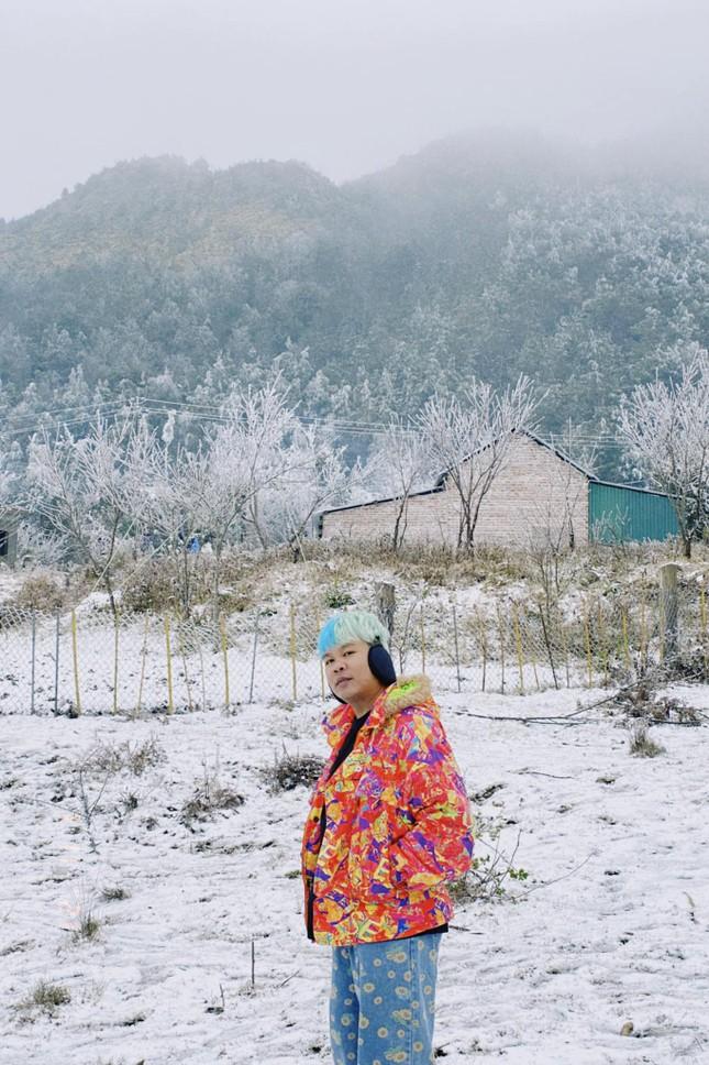 Y Tý, Sa Pa những ngày tuyết mùa Đông: Đẹp như lạc vào thế giới cổ tích của Frozen ảnh 2