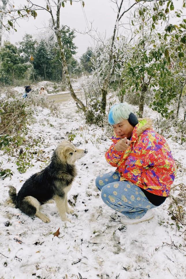 Y Tý, Sa Pa những ngày tuyết mùa Đông: Đẹp như lạc vào thế giới cổ tích của Frozen ảnh 4