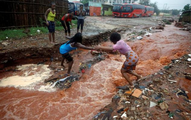 Lũ lụt nghiêm trọng diễn ra ở Mozambique ảnh 4