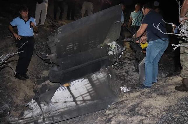 Tên lửa lạc hướng phát nổ tại Síp nghi S-200 do Syria khai hoả ảnh 1