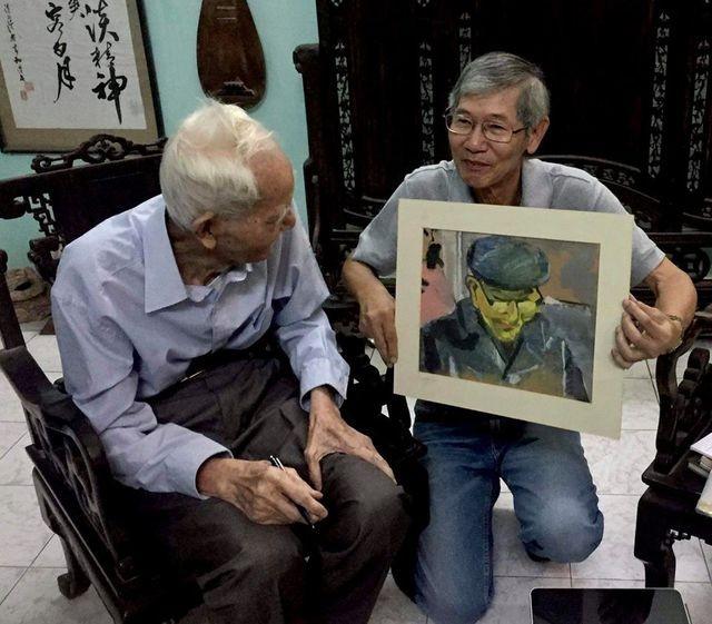 Điều ít biết về cụ ông người mẫu trong 242 bức tranh của danh hoạ Bùi Xuân Phái ảnh 2