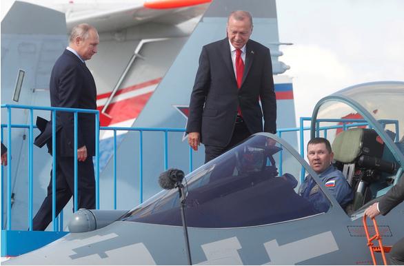 Thổ Nhĩ Kỳ tuyên bố không mua máy bay chiến đấu Su-35 của Nga ảnh 2