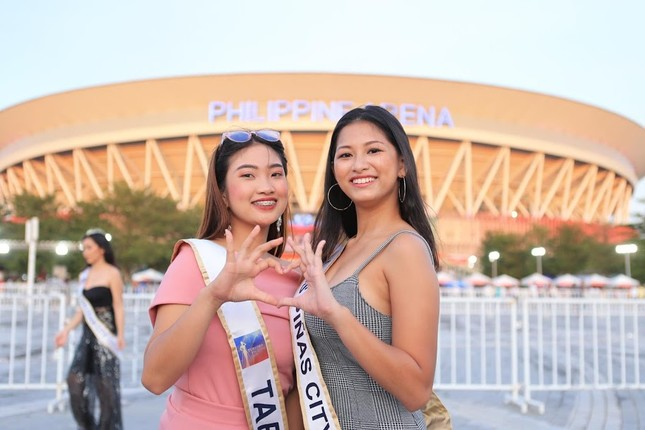 Dàn hoa hậu Philippines nóng bỏng gây 'náo loạn' lễ khai mạc SEA Games 30 ảnh 4