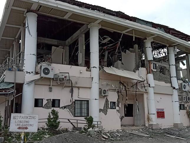 Động đất mạnh 6,8 độ rung chuyển miền nam Philippines ảnh 1