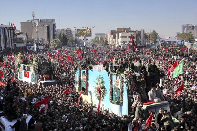 Giẫm đạp tại đám tang tướng Soleimani, 83 người thương vong ảnh 2