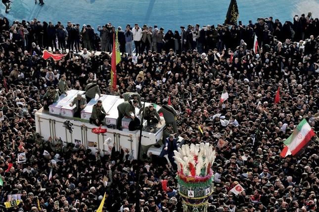 Giẫm đạp tại đám tang tướng Soleimani, 83 người thương vong ảnh 4