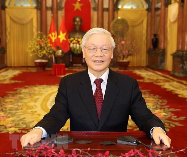 Tổng Bí thư, Chủ tịch nước Nguyễn Phú Trọng chúc Tết Canh Tý 2020 ảnh 1