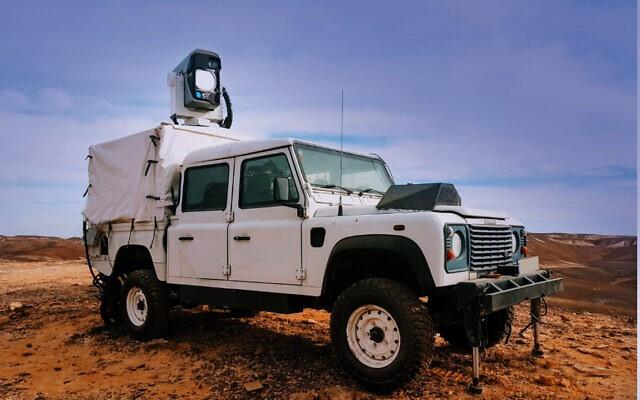 Israel khoe vũ khí laser có thể triệt hạ toàn bộ UAV đến gần ảnh 1