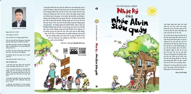 'Nhật ký của nhóc Alvin siêu quậy': Cuốn sách dành cho học sinh của tác giả nhí 13 tuổi ảnh 3