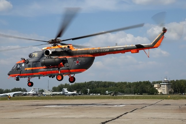 Khám phá loạt trực thăng yểm trợ mặt đất trong Lực lượng Không quân Vũ trụ Nga ảnh 10