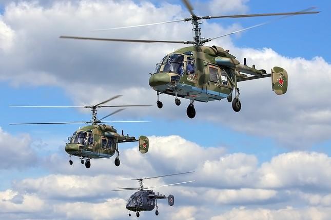 Khám phá loạt trực thăng yểm trợ mặt đất trong Lực lượng Không quân Vũ trụ Nga ảnh 12