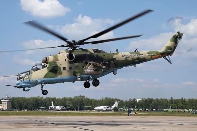 Khám phá loạt trực thăng yểm trợ mặt đất trong Lực lượng Không quân Vũ trụ Nga ảnh 1