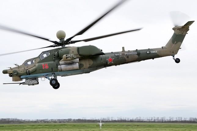 Khám phá loạt trực thăng yểm trợ mặt đất trong Lực lượng Không quân Vũ trụ Nga ảnh 2