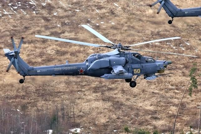 Khám phá loạt trực thăng yểm trợ mặt đất trong Lực lượng Không quân Vũ trụ Nga ảnh 3