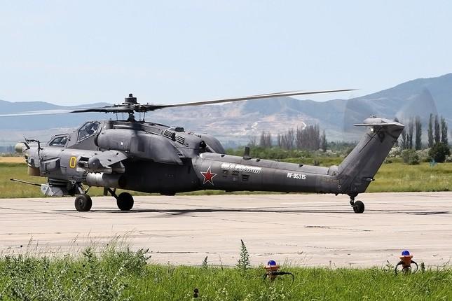 Khám phá loạt trực thăng yểm trợ mặt đất trong Lực lượng Không quân Vũ trụ Nga ảnh 4