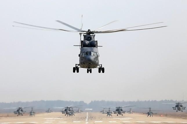 Khám phá loạt trực thăng yểm trợ mặt đất trong Lực lượng Không quân Vũ trụ Nga ảnh 5