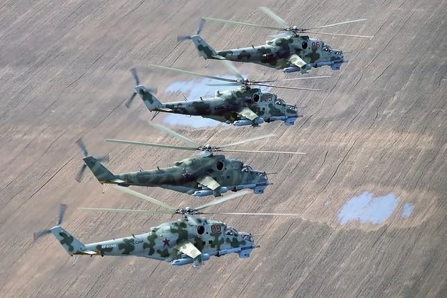 Khám phá loạt trực thăng yểm trợ mặt đất trong Lực lượng Không quân Vũ trụ Nga ảnh 7