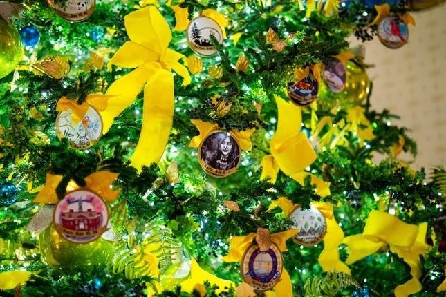 Nhà Trắng trang hoàng lộng lẫy đón Giáng sinh 2020 ảnh 4